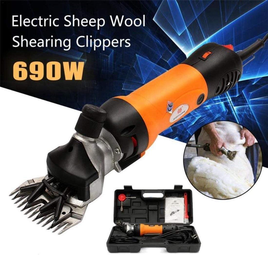 690W羊せん断電気、クリッパー動物羊ヤギペット農場機械220ボルト