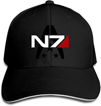 Hittings Mass Effect Alliance N7 Special Forces Flex Gorra de ...