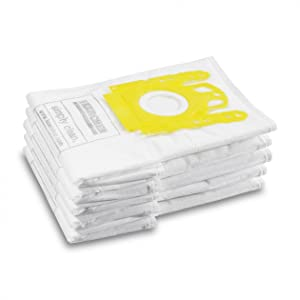 Karcher Pack 5 Vc Fleece Vacuum Bags
