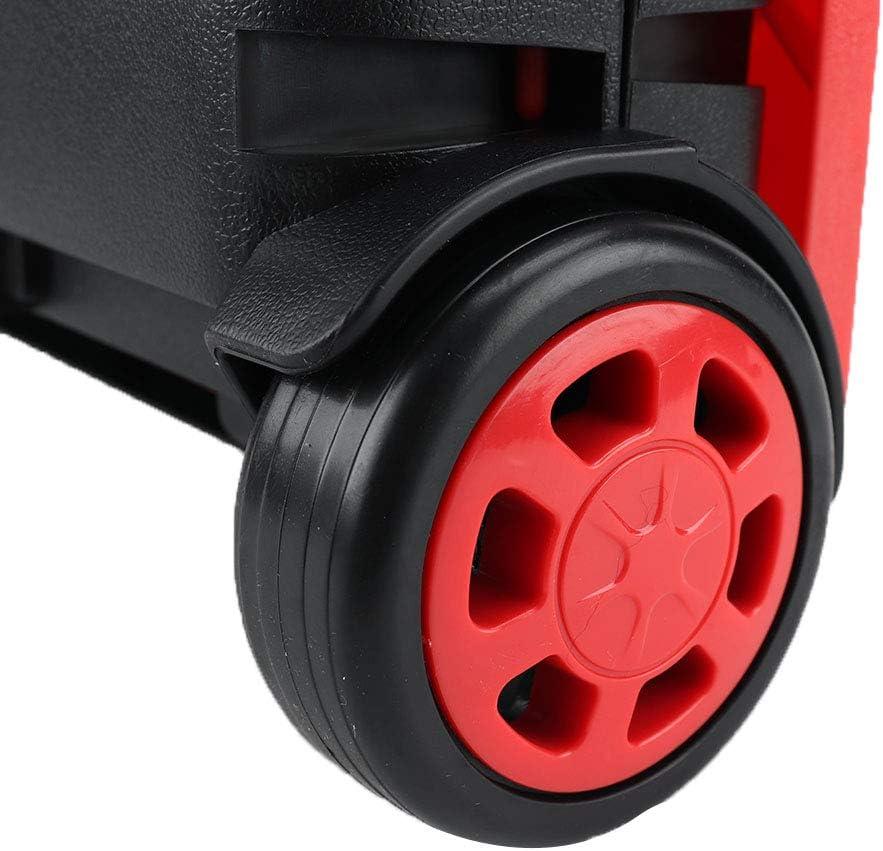 carrito de mano plegable con tapa carro plegable para maletero Carro de la compra plegable grande con ruedas 25 kg verde