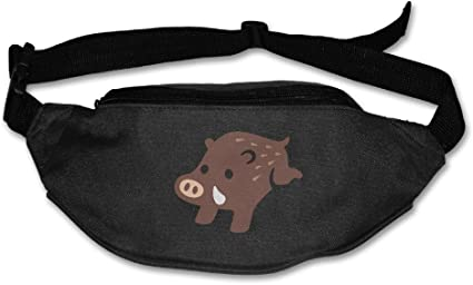 Merry Christmas Pig Sport Waist Pack Fanny Pack Adjustable For Travel