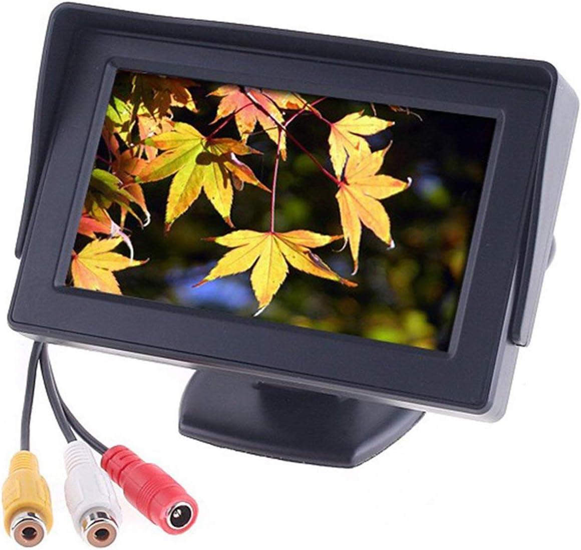 Ballylelly 4,3TFT-LCD-Auto-Monitor Rckfahrkamera Farb-DVD ...