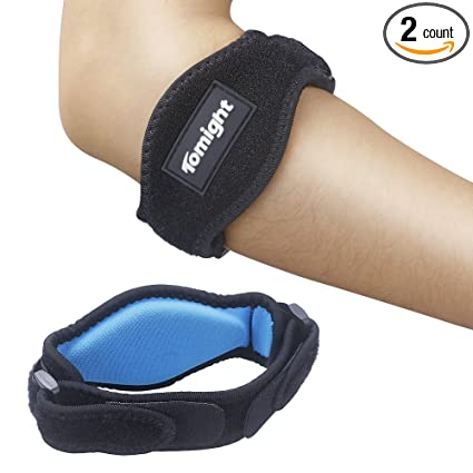 c097e894d2 Tomight [2 Pack Elbow Brace, Tennis Elbow Brace with Compression Pad for  Both Men