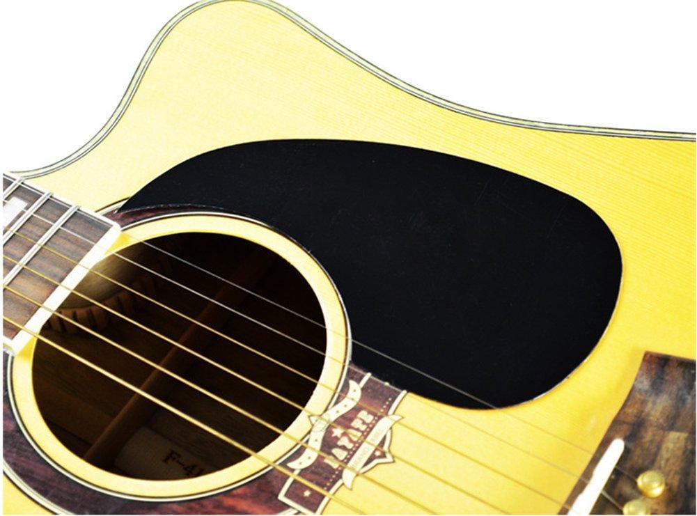 Acoustic Guitar Pickguard Self-Adhesive Teardrop Red Tortoise Pattern UK