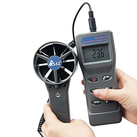 Anemómetro Digital Anemómetro, monitores meteorológicos, caudal de Aire de los medidores, Calidad del