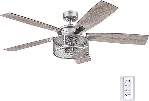Honeywell Ceiling Fans 51460-01 Carnegie Ceiling Fan