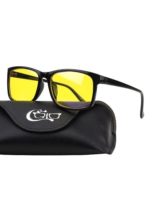 15 opinioni per CGID CT12 Occhiali per Blocco Luce Azzurra, Anti Riflesso Anti Affaticamento