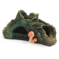Mountain View Aquarium Coral Rock Decoration Vivid Mountain Cave Environments Ornaments Fish Tank Resin Fish Tank Ornament Decoration
