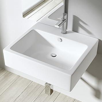Lavabo Vasque À Poser Ou Monter Au Mur Évier Design Bruxelles 712 ...