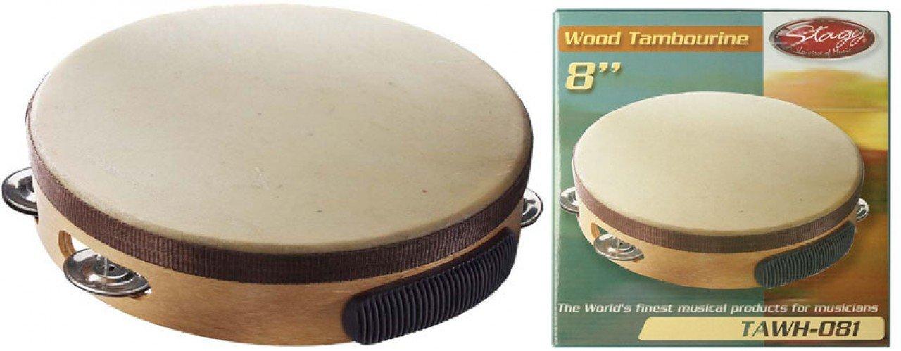 Stagg TAWH-081 Pretuned Tambourine