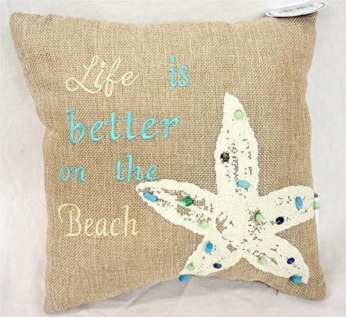 9 Nautical Seashell Pillow 3 Pieces Included