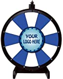 Color Dry Erase Prize Wheel with Your Custom Stationary Logo