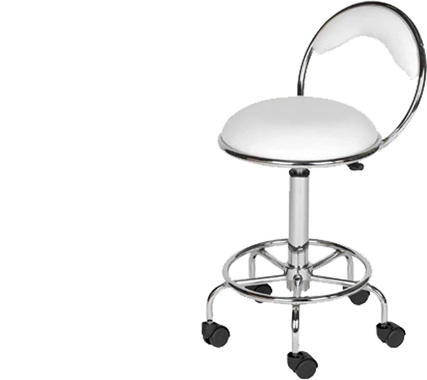Amazon.com LCL Beauty White Stool Chair Back Support foot Rest Dentist Doctor Medical Office Salon Spa Tattoo Equipment Beauty  sc 1 st  Amazon.com & Amazon.com: LCL Beauty White Stool Chair Back Support foot Rest ... islam-shia.org