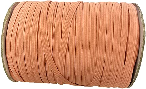 1//4 Inch 6mm 10 Yards, Virtual Pink 10 Yards 6mm Colored Braided Flat Elastic Stretch Band Cord//Elastic Band//Elastic Rope//Bungee//for Sewing Clothes