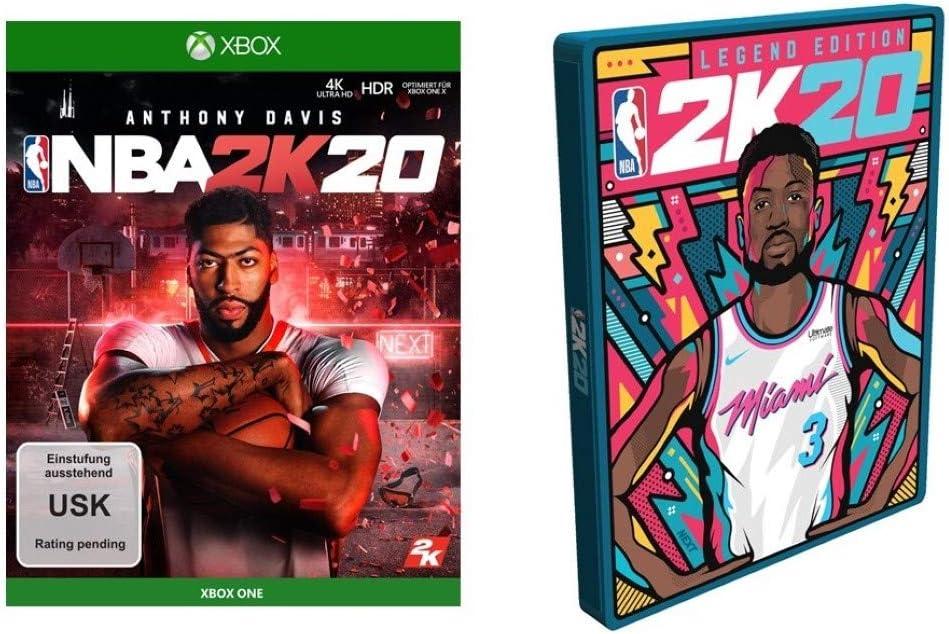 NBA 2K20 Standard Edition inkl. Steelbook (exkl. bei Amazon.de) - Xbox One [Importación alemana]: Amazon.es: Videojuegos