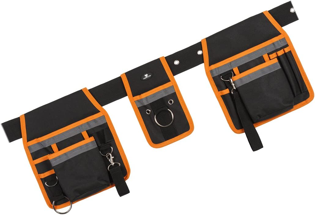 Case 4 life 3 Poche Pochette pack pour le bricolage outils outil ceinture rangement vis clous Sécur