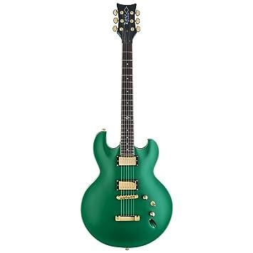 DBZ/diamantes guitarras imab3-cgs Imperial AB (para guitarra eléctrica, Cadillac verde