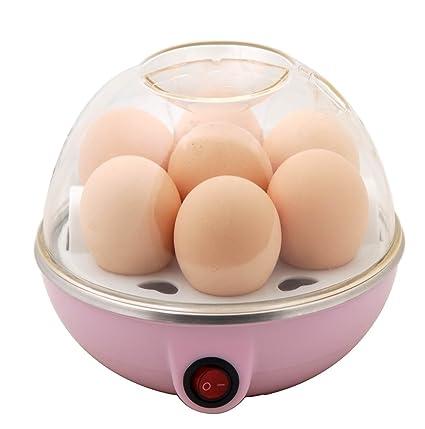 CurioCity EGGPOACH-1 Compact Stylish Electric Egg Cooker (Multicolour)