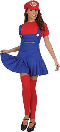 Stamco Disfraz Super Mario para Mujer: Amazon.es: Juguetes y ...