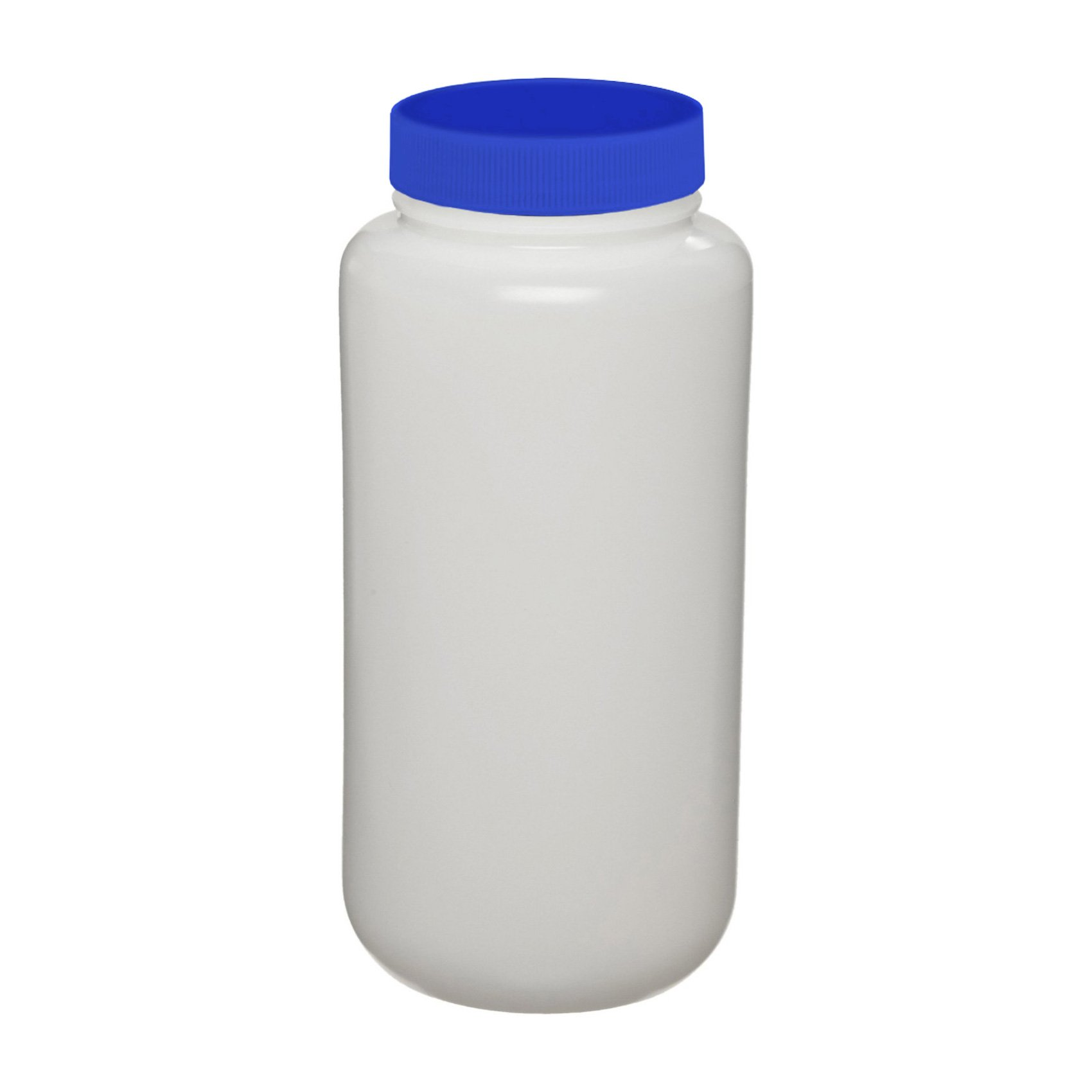 I-Chem Brand 312-0250 300 Series HDPE Translucent Wide Mouth Packer, Certifed, With Cap, Capacity: 250mL (Case of 24)