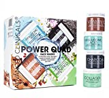 quad mask - Advanced Clinicals Power Quad Face Masks – Charcoal Mask, Vitamin C Mask, Collagen Mask, Hyaluronic Mask. 2oz each. Great gift set!