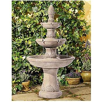 Amazon Com Alpine Corporation 3 Tiered Pedestal Water