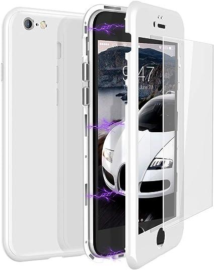 360 Antiurto Custodia iPhone 6s Plus Ultra Sottile Hard PC TPU Silicone Anti-Graffio per iPhone 6 Plus Cover-Nero ORETECH Cover iPhone 6 Plus//6s Plus con 2X Pellicola Protettiva Vetro Temperato