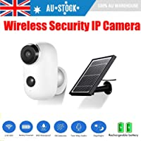 IP Security Camera Rechargeable Outdoor Battery Powered/Solar Panel 1080P WiFi (Solar Pannel)