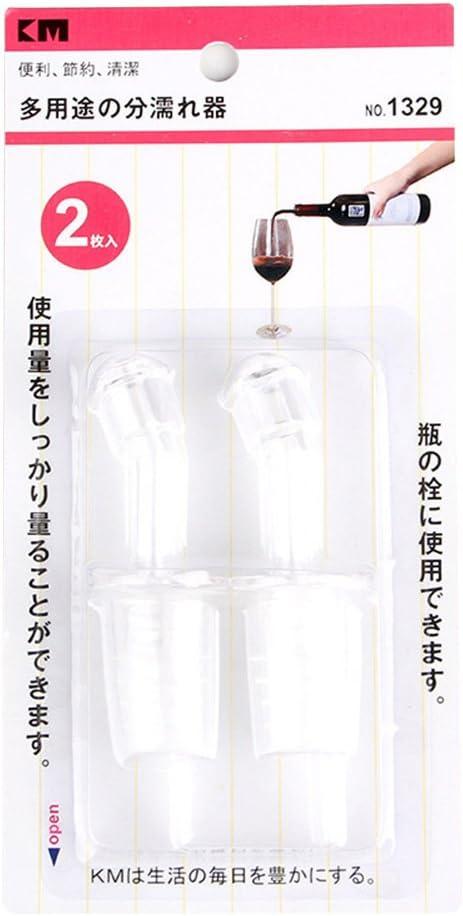 lhuile dolive Drizzle vinaigre Vin becs blanc 2pcs Chef Aid Distributeur de bouteille de vin free size Bec Coque en silicone