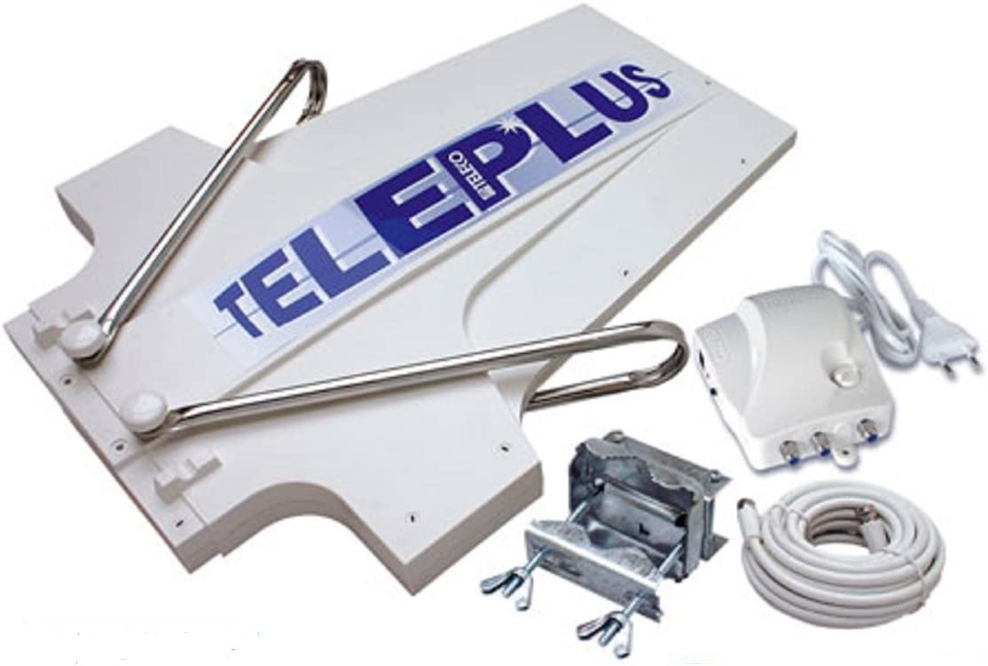 Teleco Antena TV Digital analógica 36dB Caravana Autocaravana teleplus 15558