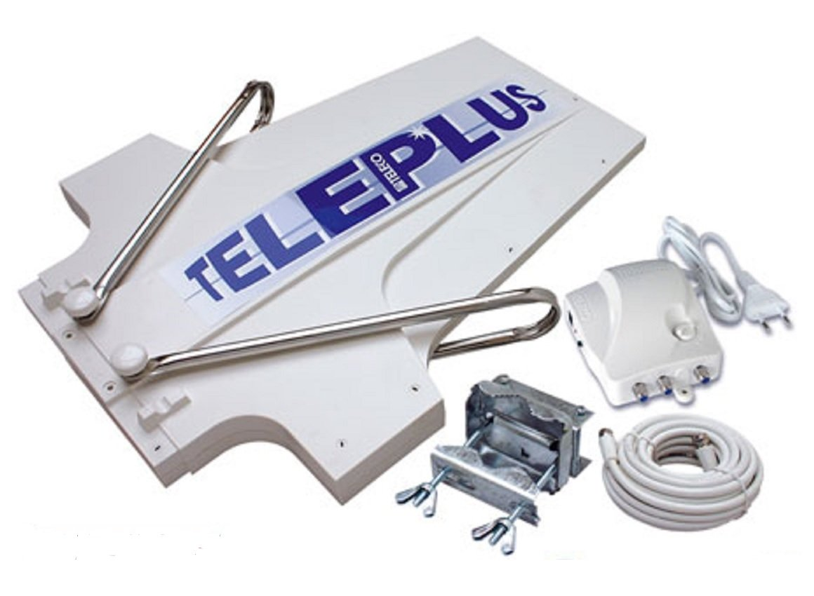 Teleco 15558 Teleplus Antenne TV numé rique/analogique pour caravane 36 dB