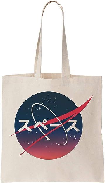 Nasa Aesthetic Algodón Bag Tote Bag: Amazon.es: Zapatos y complementos