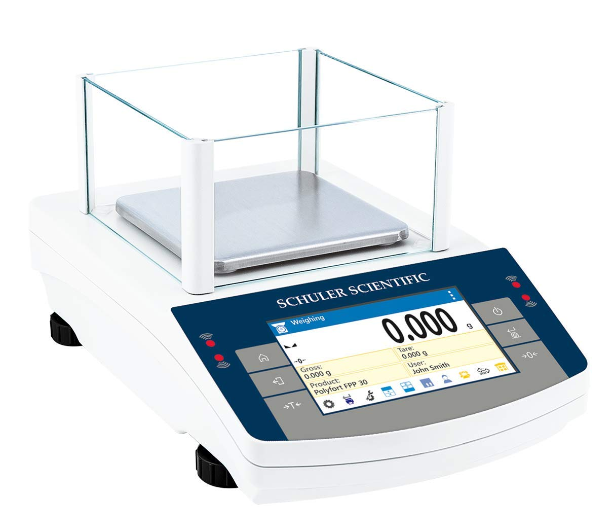 Image of Analytical Balances Schuler Scientific SPS-363.TD TD Series Precision Balance with 1mg Readability and 360G Capacity, 13.98' Height, 8.11' Wide, 13.11' Length