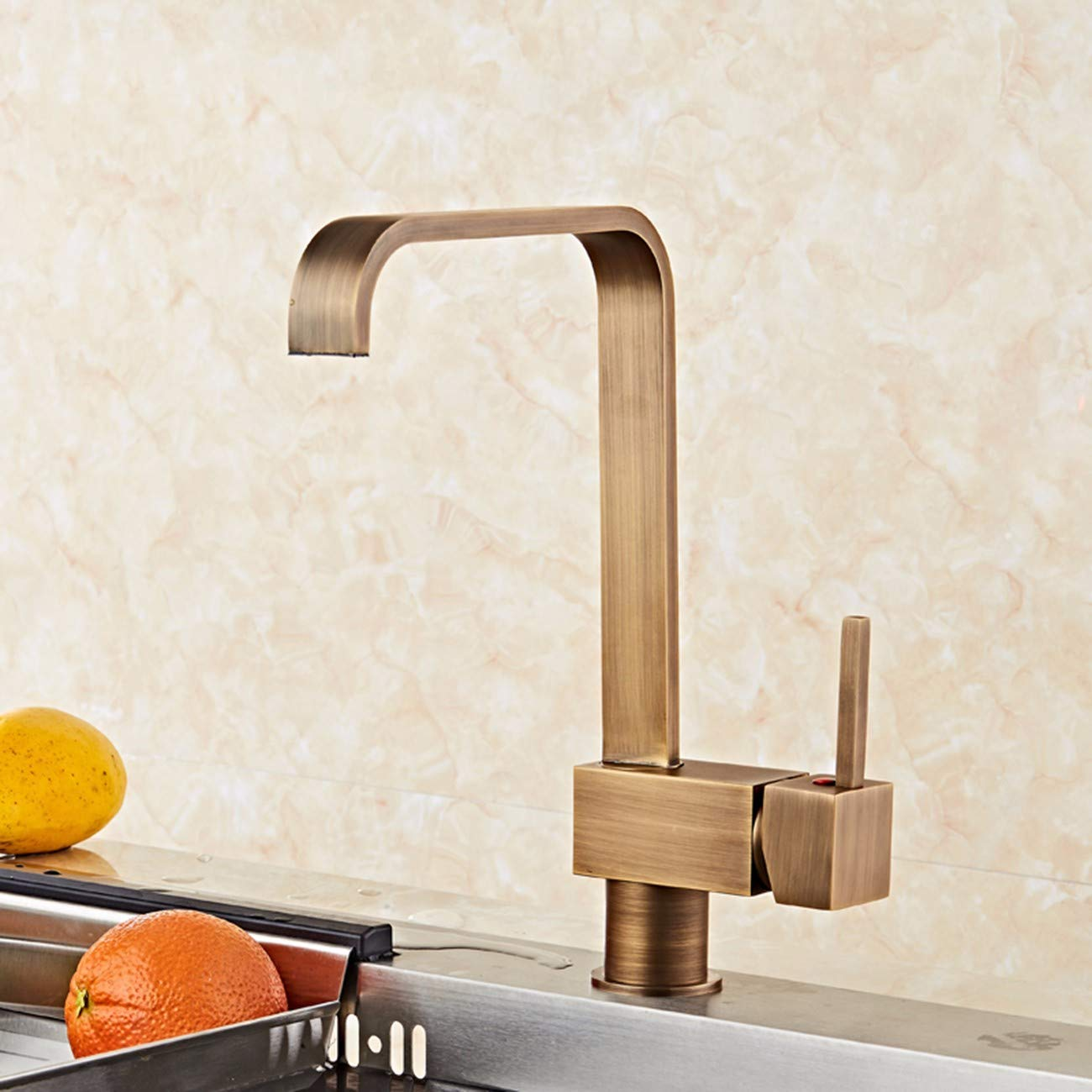 I QPGGP-Kitchen mixer European Copper Ancient Kitchen Faucet,B