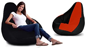 Image Unavailable. Image not available for. Colour  Ink Craft Bean Bag - Faux  Leather Bean Bag Chair - XXL Seriously Man Size Bean fb5816bef8de0