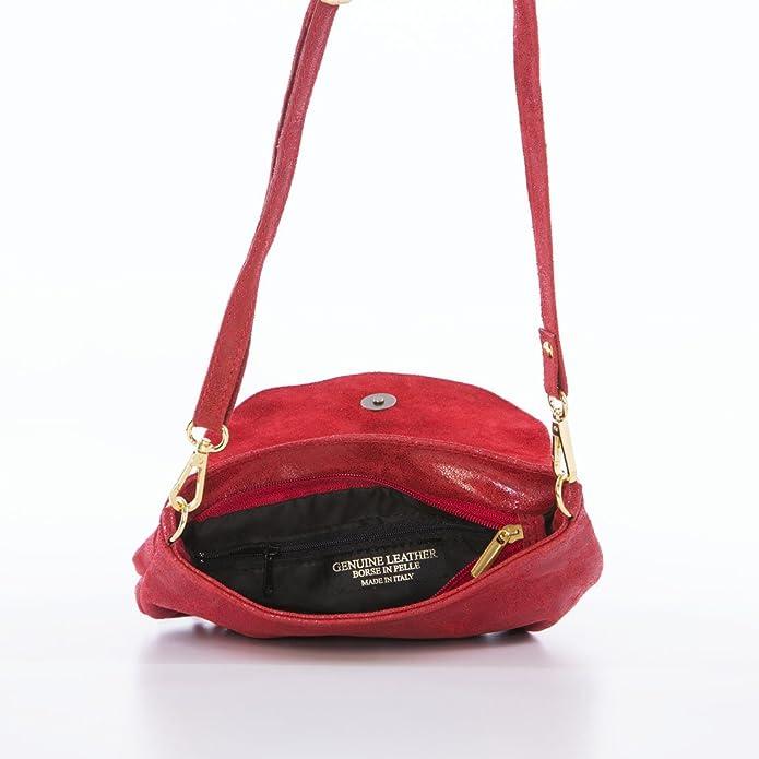 Mia Tomazzi WBMT180619-Red (50) - ACCESSOIRE PETITE MAROQUINERIE - 159EUR -  Produit en Italie  Amazon.fr  Chaussures et Sacs abc57d1973f