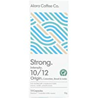 Alora Coffee Co, 6 packs of 10 Nespresso Compatible pods (60 pods total), Strong