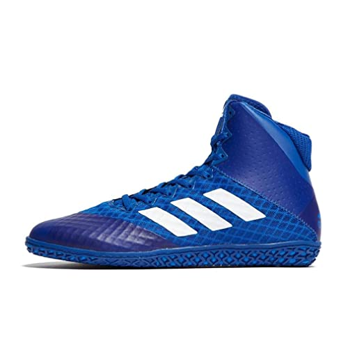 online store 55c11 17b79 adidas Mat Wizard 4 Mens Wrestling Boots Shoes Blue Size UK 6.5