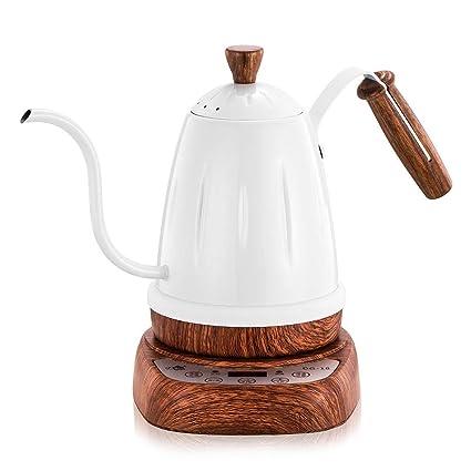 Amazon.com: Cafetera eléctrica de acero inoxidable para café ...