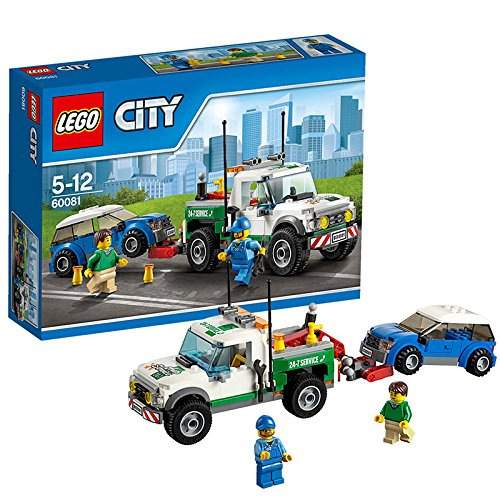 655 opinioni per LEGO City Great Vehicles 60081- Pickup Carro Attrezzi