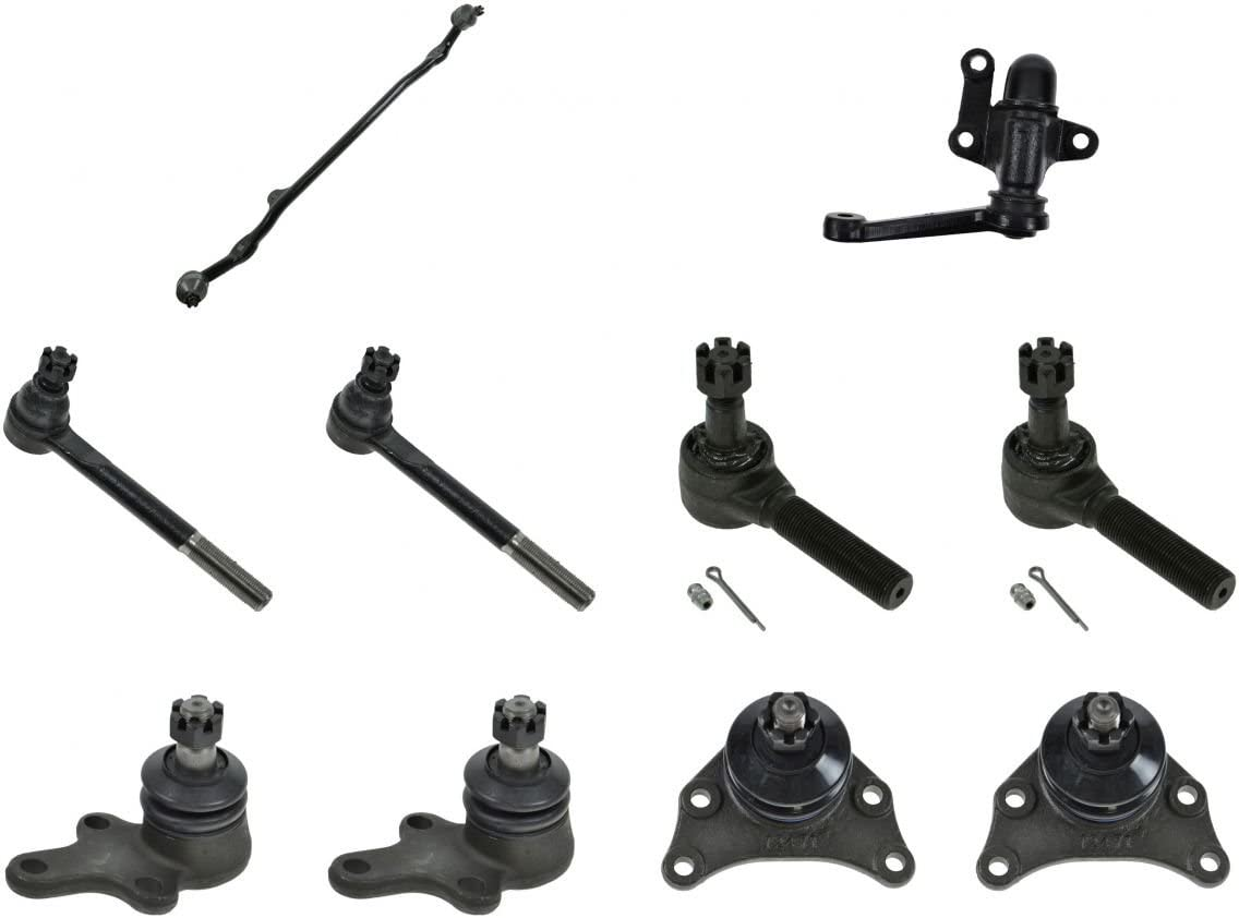 4 Pc Steering Kit Tie Rod End Front Inner /& Outer fits 89-95 Mazda MPV 2WD