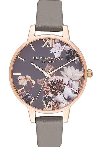 b6163882b485 Olivia Burton - Reloj de Pulsera analógico para Mujer (Cuarzo