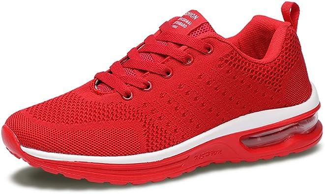 Axcone Hombre Mujer Zapatillas de Correr Casual Aire Libre ...
