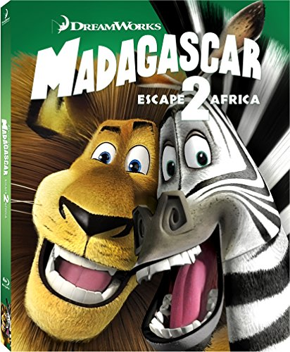 Madagascar: Escape 2 Africa Blu-ray w/ Family Icons Oring