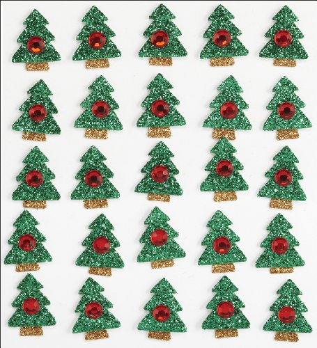 Jolee's Boutique Christmas Tree Dimensional Stickers