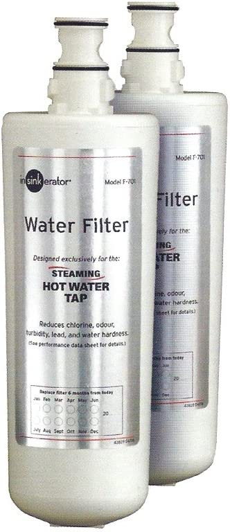 Insinkerator F701R Twin Replacement Filter Pack.
