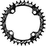 JNP 32T 34T 36T 38T 40T 自転車のクランクのチェーン リング 104BCD AL7075シングル スピード ギアヘルプ互換性のあります 9S 10S 11S