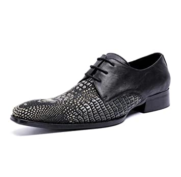 Amazon Com Winklepicker Business Casual Leather Shoes Derby Shoes