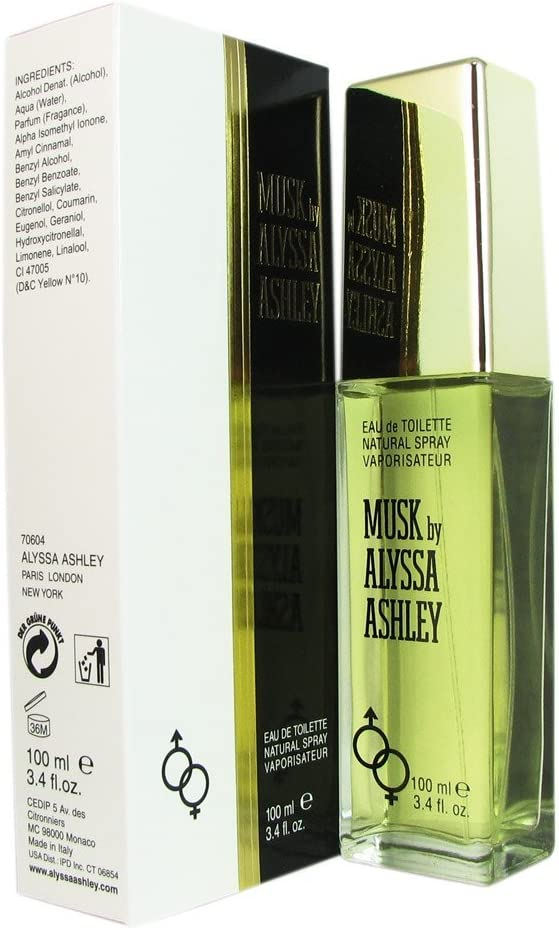 Alyssa Ashley Musk Agua de Colonia - 450 gr: Amazon.es