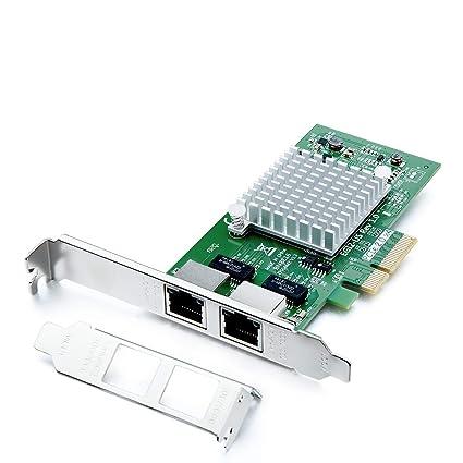 H!Fiber.com Tarjeta de Red Gigabit PCIE para el Chip Intel ...
